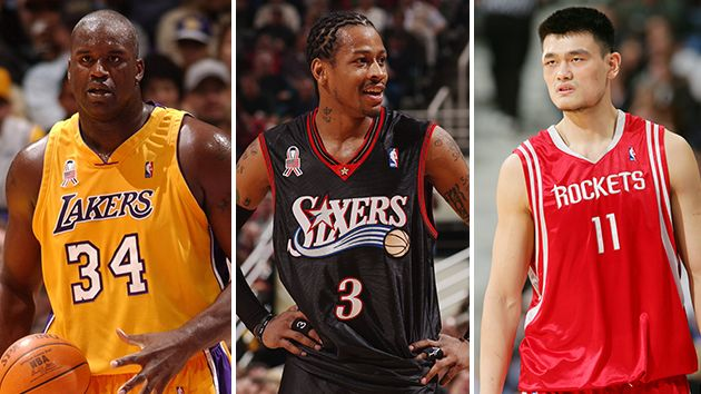 Yao, Shaq, Iverson & Webber - among nominees for HoF 2016