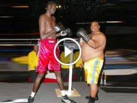 Celebrity boxing: Manute Bol vs William 'Refrigerator' Perry (VIDEO)