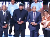 Ex-NBA stars honored for contributions to civil and human rights