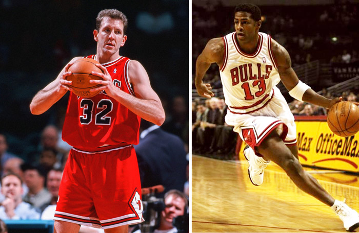 19c82bd64 Former NBA players Kendall Gill and Will Perdue