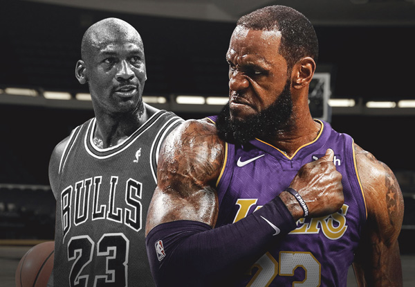 97fe30fe1623 LeBron James has the answer to the one question Chicago Bulls fans have  been asking for years  What s it like to meet Michael Jordan for the first  time