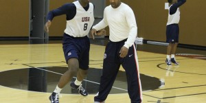 Ex-NBA guard trains U.S. Basketball Men's U17 World Championship Team
