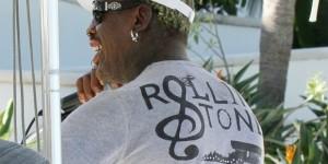 "Dennis Rodman: ""Rolling Stoned"", smoking a cigar in Miami - PHOTOS"