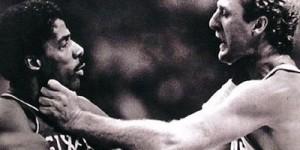 Ex-NBA ref recalls Larry Bird fighting Julius Erving