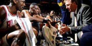 Larry Bird memories: Kobe went at Jordan, Michael went back at Kobe