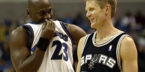 What Steve Kerr tells Michael Jordan every time they meet?