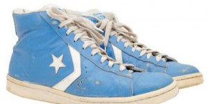 Michael Jordan's UNC Converse kicks sold for over $33,000