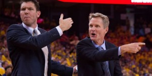 Luke Walton substitutes Steve Kerr as Warriors' head coach, but for how long?