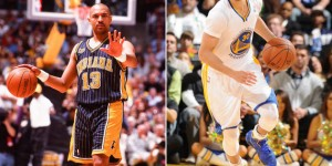 Retired, overweight Mark Jackson beats Steph Curry in 3-point shootout - VIDEO