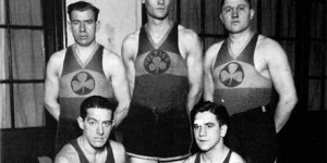 WATCH - the Original Celtics 1930's game play