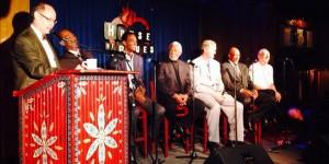 Drexler, Manning, Laettner, Sampson gather to talk college basketball