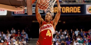 WATCH: 5'7 Spud Webb dunks the ball...during NBA game