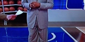 Tracy McGrady spotted wearing unfitting suit - PHOTO