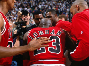 reputable site ec790 c4dc6 Jordan's 1998 Playoff jersey sold for nearly $170,000