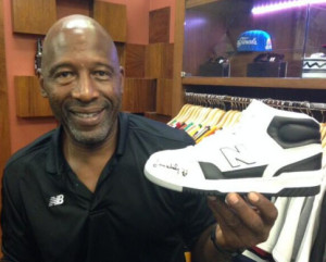 James Worthy on the \